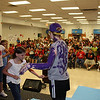 Alice Ponder Elementary School TAKS Reward : On Monday, May 30, 2011, 3rd Grade students at Alice Ponder Elementary had the honor of painting the principal Purple!  Jennifer Stoecker, was a great sport as students tested their art skills.  The 3rd students out-performed the 4th graders on TAKS passing and commended rate.