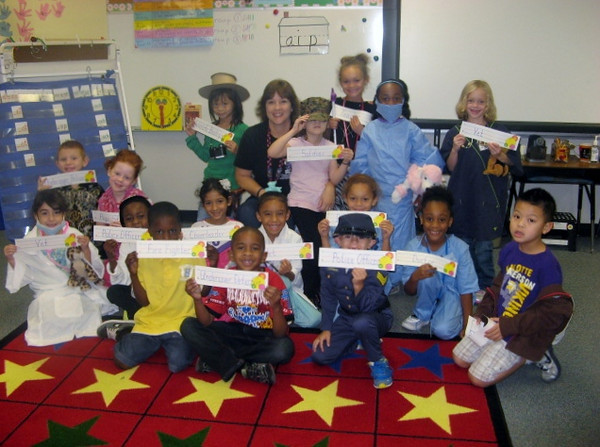Anderson Elementary 'First Grade - Dress for a Job Day'