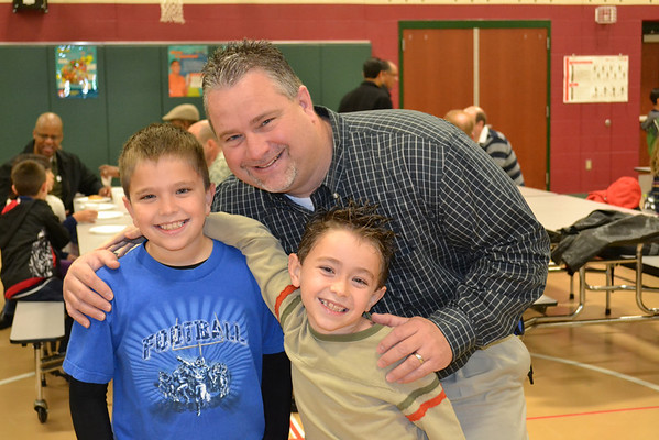 Daulton Elementary 'Donuts for Dad'