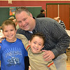 Daulton Elementary 'Donuts for Dad' : Anna May Daulton Elementary School held their 'Donuts for Dad' on January 26 2012.  The event was sponsored by the Daulton PTA, and over 120 Dads attended.
