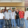 Dad's Week at D.P. Morris : Members of the D.P. Morris Elementary Dad's Club served as greeters for students on the morning of April 15. As part of the school's first-ever Dad's Week, several Dad's Club members volunteered their time to help out and show support to the students and staff.