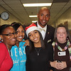 "T.A. Howard Middle School Bring Your Parent To School Day : The students of T.A. Howard Middle School were on their very best behavior for ""Bring Your Parent to School Day."" Parents accompanied their children throughout the school day, taking part in classes and even dining in the cafeteria!"