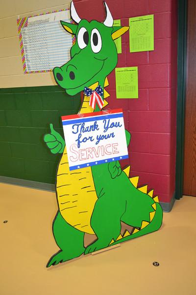 Daulton Elementary 2014 Veterans Day Event