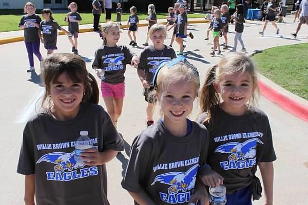 Willie Brown Elementary 2013 Fun Run