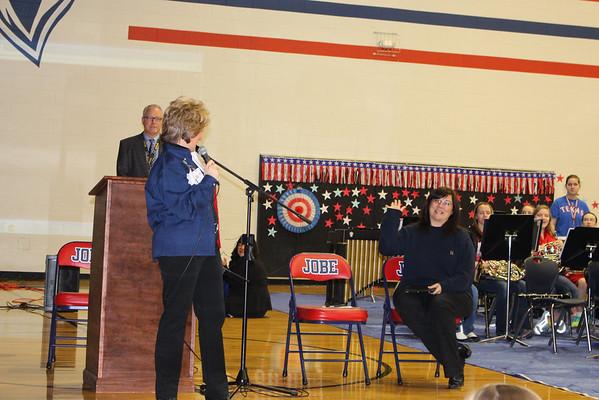 Linda Jobe Middle School Welcomes Home Coach